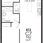 B-Line Condos - Suite C7 - Floor Plan