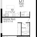 B-Line Condos - Suite D1 - Floor Plan
