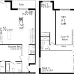 B-Line Condos - Suite F1 - Floor Plan