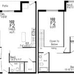 B-Line Condos - Suite F2 - Floor Plan