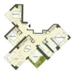 BIG King Toronto Condo - 1105 - Floorplan