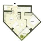 BIG King Toronto Condo - 508 - Floorplan