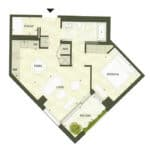 BIG King Toronto Condo - 606 - Floorplan
