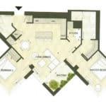 BIG King Toronto Condo - 607 - Floorplan