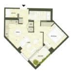 BIG King Toronto Condo - 608 - Floorplan
