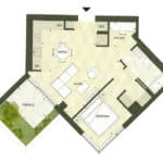 BIG King Toronto Condo - 705 - Floorplan