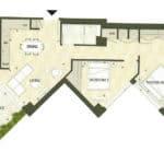 BIG King Toronto Condo - 806 - Floorplan