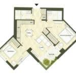 BIG King Toronto Condo - 903 - Floorplan