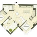 BIG King Toronto Condo - 905 - Floorplan