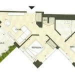 BIG King Toronto Condo - 906 - Floorplan