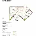 BIG King Toronto Condos - 803-E - Floorplan