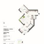 BIG King Toronto Condos - 919-E - Floorplan