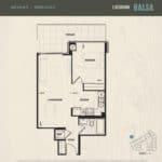 Oak & Co Condos - Balsa - Floorplan