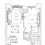 Bianca Condos - 1A - Floorplan