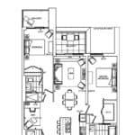 Bianca Condos - 2E+DB - Floorplan