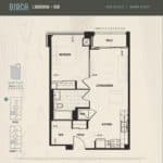 Oak & Co Condos - Birch - Floorplan