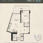 Oak & Co Condos - Briar - Floorplan