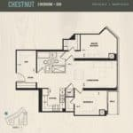 Oak & Co Condos - Chestnut - Floorplan