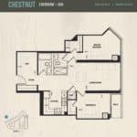 Oak & Co Condos - Chestnut - Floorplan