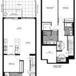 The Logan Residences - 3 Bed, Den, and 3 Bath - Coady Floorplan
