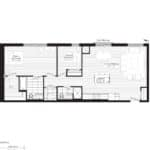Courtyards at Cathedraltown - M2 - Floorplan