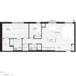 Courtyards at Cathedraltown - M2 - Floorplan