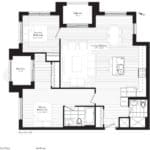 Courtyards at Cathedraltown - Q - Floorplan