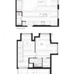 Courtyards at Cathedraltown - R - Floorplan