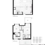 Courtyards at Cathedraltown - T1 - Floorplan