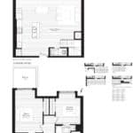 Courtyards at Cathedraltown - T2 - Floorplan
