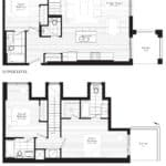 Courtyards at Cathedraltown - W - Floorplan