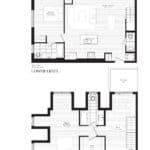 Courtyards at Cathedraltown - X - Floorplan