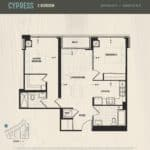 Oak & Co Condos - Cypress - Floorplan
