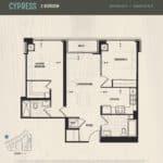 Oak & Co Condos - Cypress - Floorplan