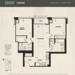 Oak & Co Condos - Ebony - Floorplan