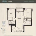 Oak & Co Condos - Ebony - Floorplan