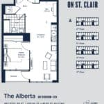 Eight Forty Condos - Alberta - Floorplan