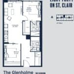 Eight Forty Condos - Glenholme - Floorplan