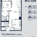 Eight Forty Condos - Glenhurst - Floorplan