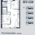 Eight Forty Condos - Greensides - Floorplan