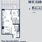 Eight Forty Condos - Northcliffe - Floorplan