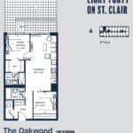 Eight Forty Condos - Oakwood - Floorplan