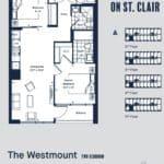 Eight Forty Condos - Westmount - Floorplan