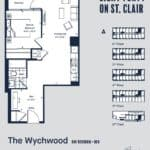 Eight Forty Condos - Wychwood - Floorplan