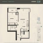 Oak & Co Condos - Elm - Floorplan