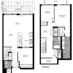 The Logan Residences - 3 Bed and 3 Bath - GreenwoodFloorplan