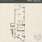 Oak & Co Condos - Hemlock - Floorplan