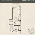 Oak & Co Condos - Hemlock - Floorplan