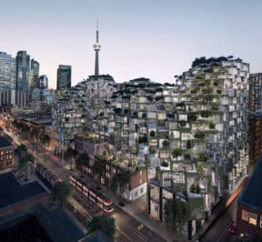 KING Toronto - Exterior Render