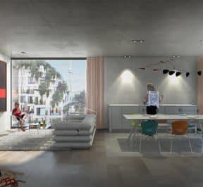 KING Toronto - Suite - Interior Render